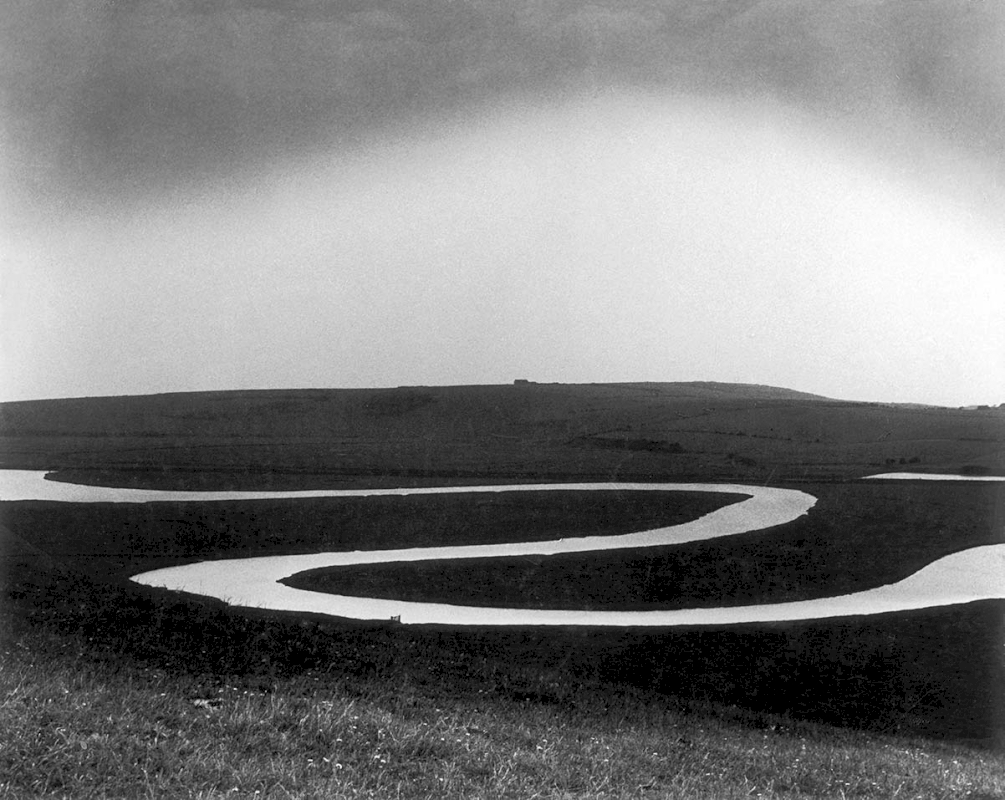 Cuckmere River, 1963 - Private collection, Courtesy Bill Brandt Archive and Edwynn Houk Gallery © Bill Brandt / Bill Brandt Archive Ltd.